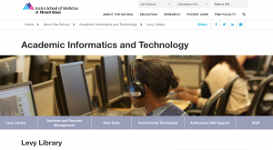 Levy Library uses PlumX altmetrics for promotion and tenure