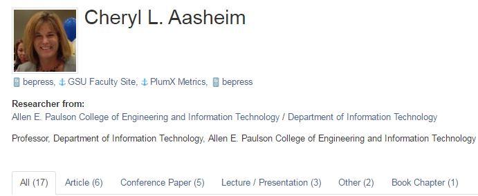 Dissertation profile